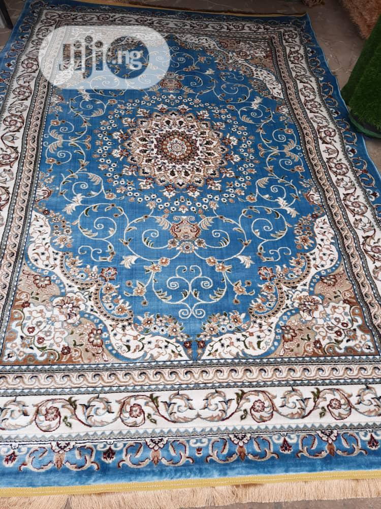 Super Unique 7 by 10 Arabian Center Rug.