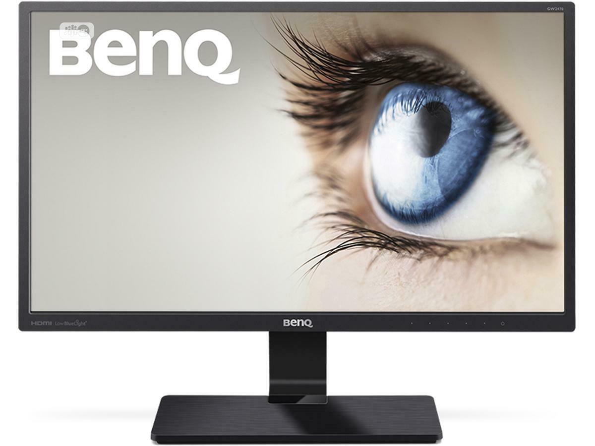 Benq Gw2480 24 Inch Ips Eye-care Monitor 1080P VGA HDMI DP | Computer Monitors for sale in Ikeja, Lagos State, Nigeria