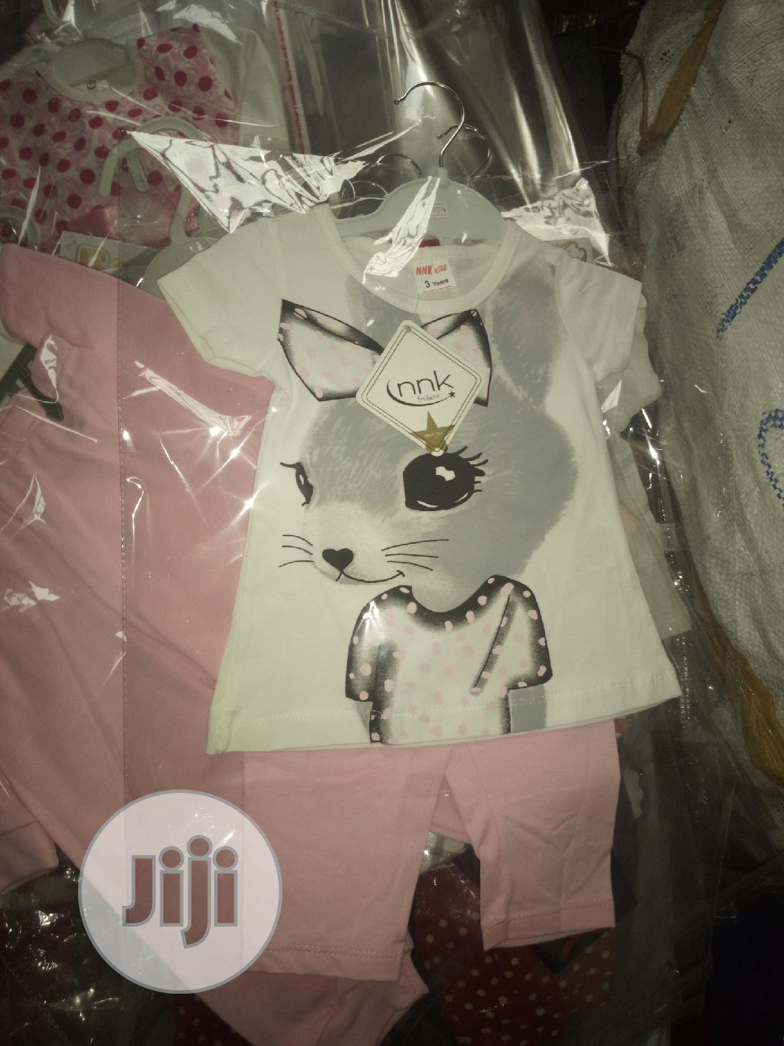 Turkey Made Two Piece Clothes And Trendy Overall | Children's Clothing for sale in Kubwa, Abuja (FCT) State, Nigeria