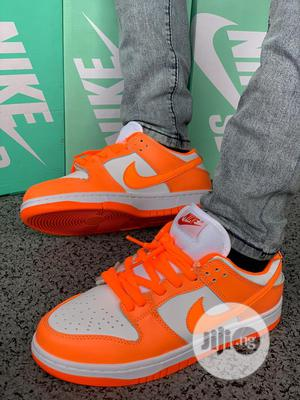 Nike SB Dunk Low Orange Sneakers Original   Shoes for sale in Lagos State, Surulere