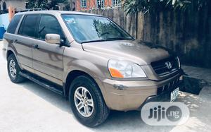 Honda Pilot 2004 Gold | Cars for sale in Lagos State, Gbagada