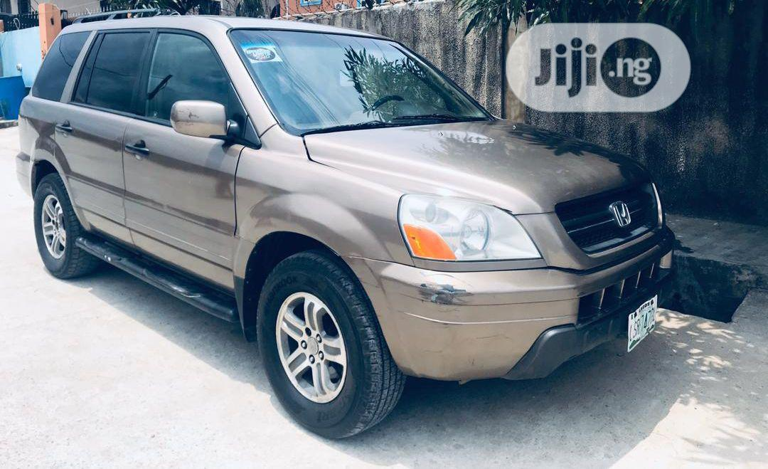 Honda Pilot 2004 Gold | Cars for sale in Gbagada, Lagos State, Nigeria