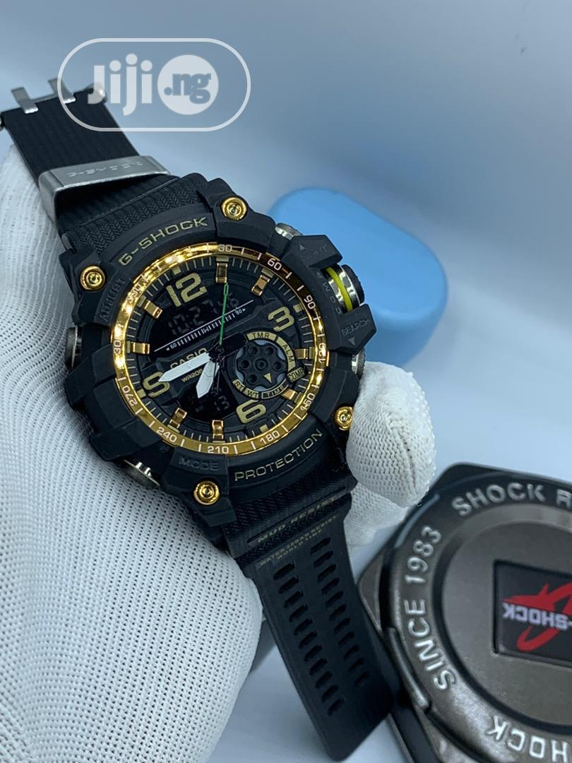 Archive: Gshock Casio Digital And Analog Watch