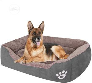 Machine Washable Comfortable Padded Dog Bed   Pet's Accessories for sale in Lagos State, Lekki