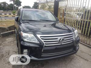 Lexus LX 2015 570 Base Black | Cars for sale in Lagos State, Mushin