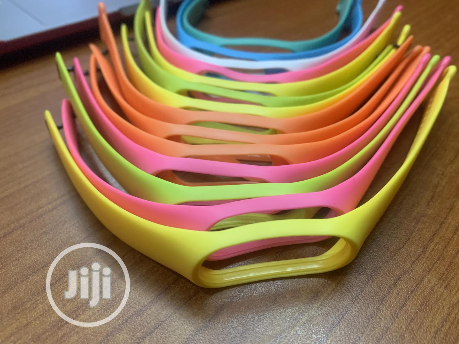 Xiaomi Mi Band 3/ Band 4 & 5 Replacement Strap | Smart Watches & Trackers for sale in Ikotun/Igando, Lagos State, Nigeria
