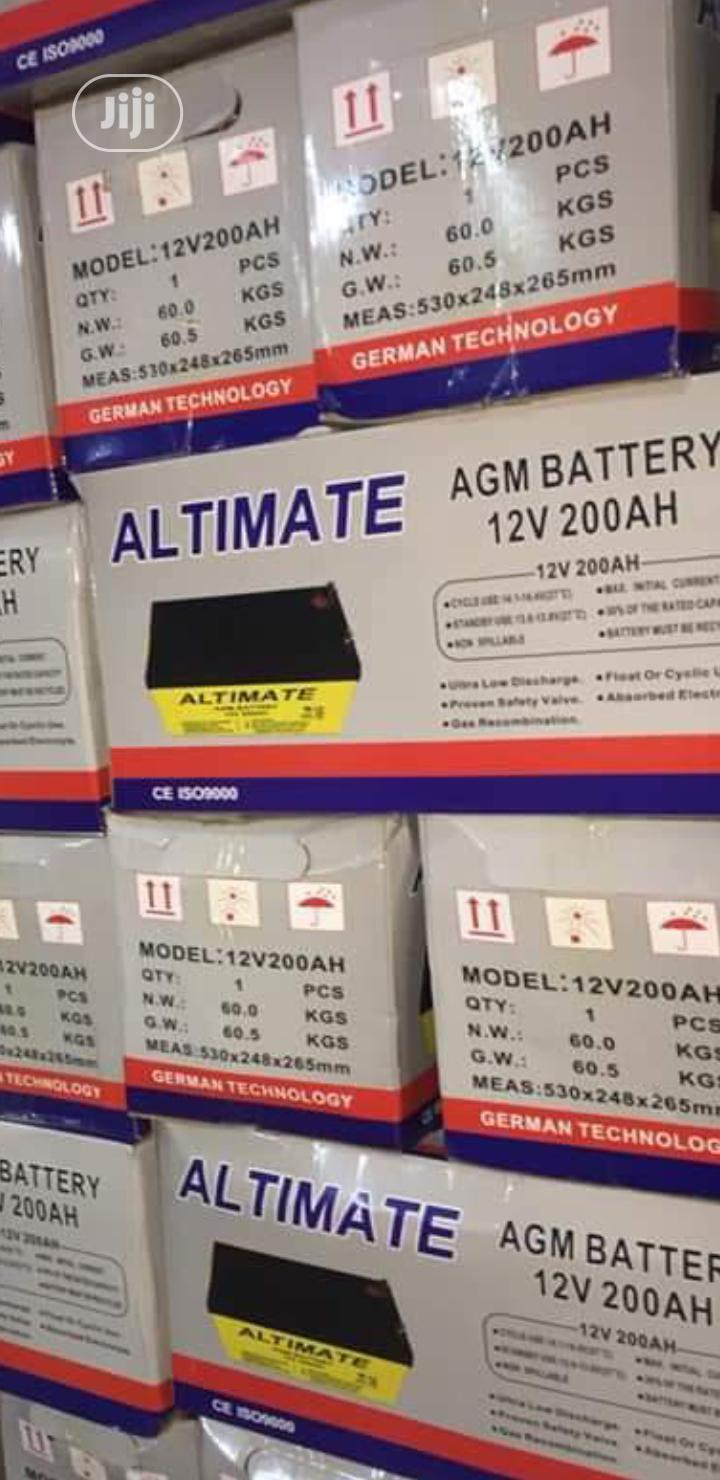 200ah Altimate Deep Cycle Battery
