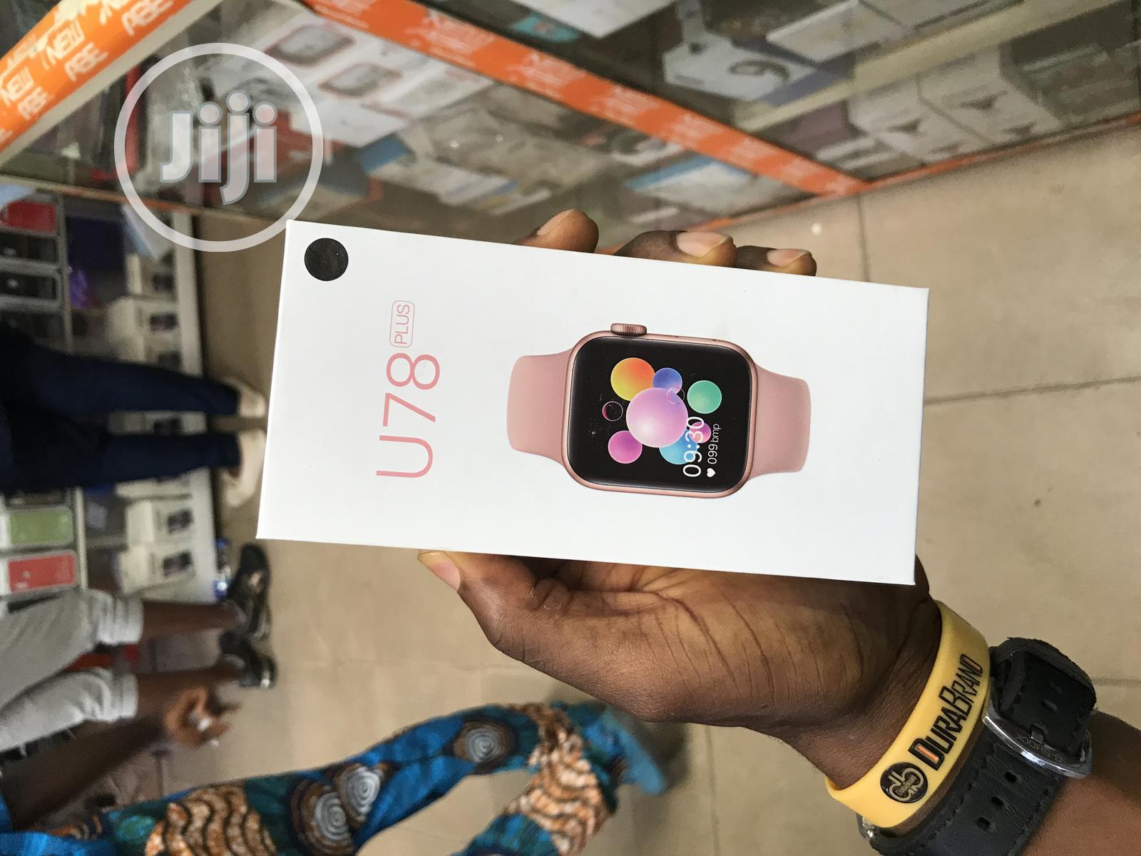 U78plus Bluetooth - Call - Siri - Voice & Music Player Smart | Smart Watches & Trackers for sale in Ikeja, Lagos State, Nigeria