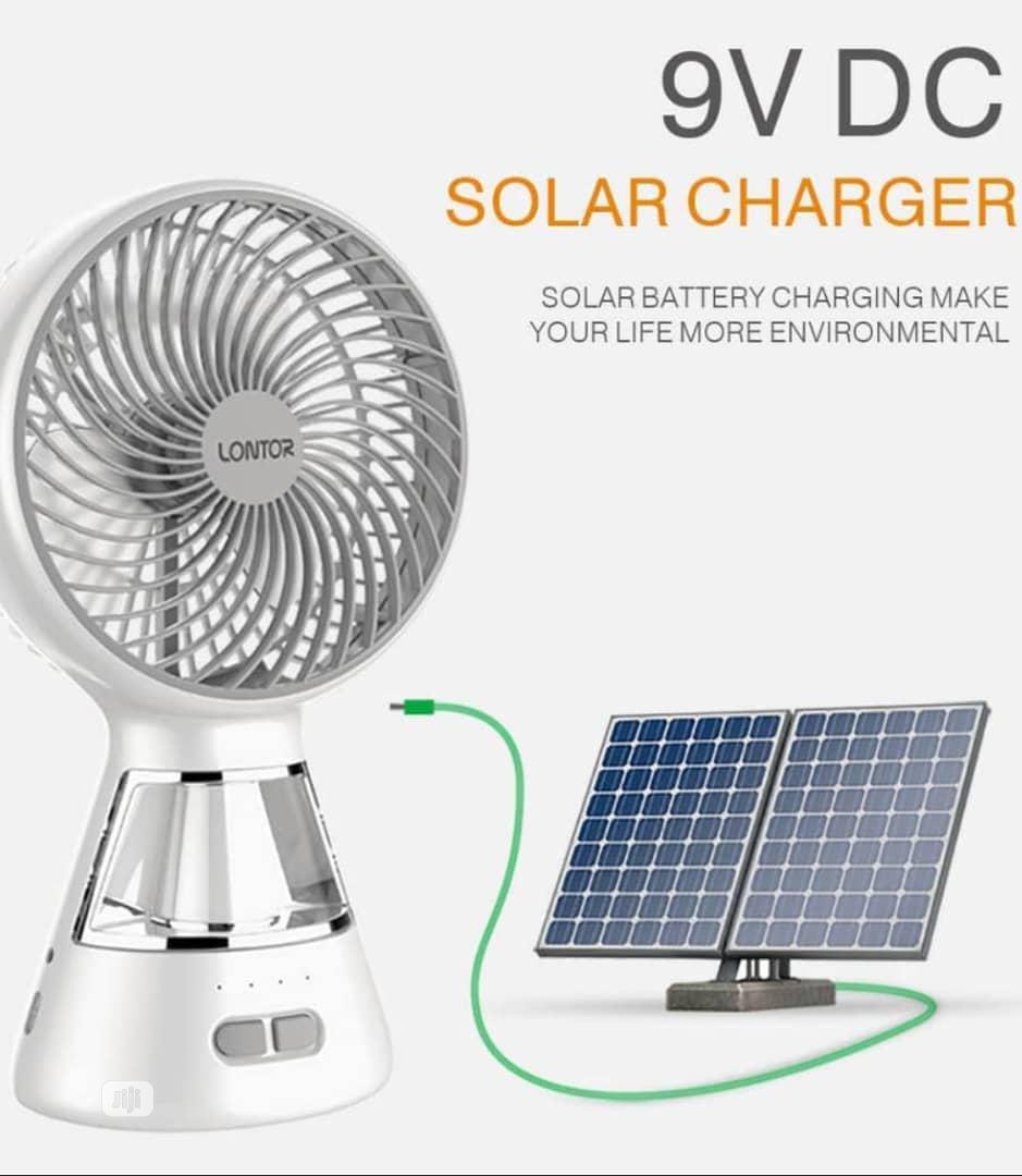 USB And Solar Fan