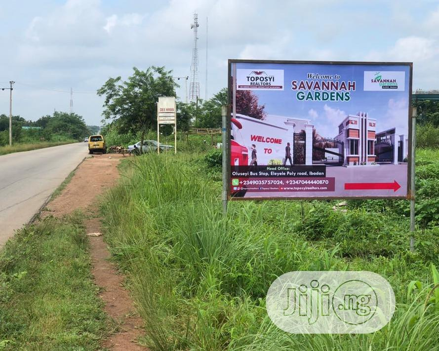 Archive: Dry Land Available For Sale At SAVANNAH GARDENS, Olodo, Ibadan.