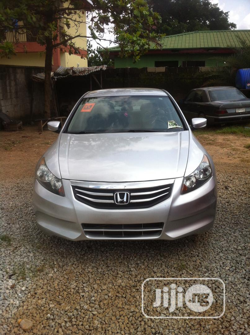 Honda Accord 2012 Sedan LX-P Silver