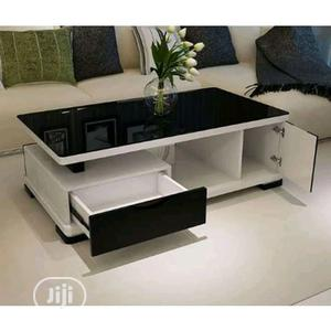 Modern Center Table With Glass Top | Furniture for sale in Lagos State, Ogba