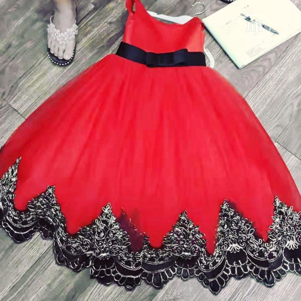 Ball Dress For 2 To 4 Years