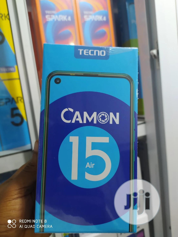 New Tecno Camon 15 Air 64 GB Blue