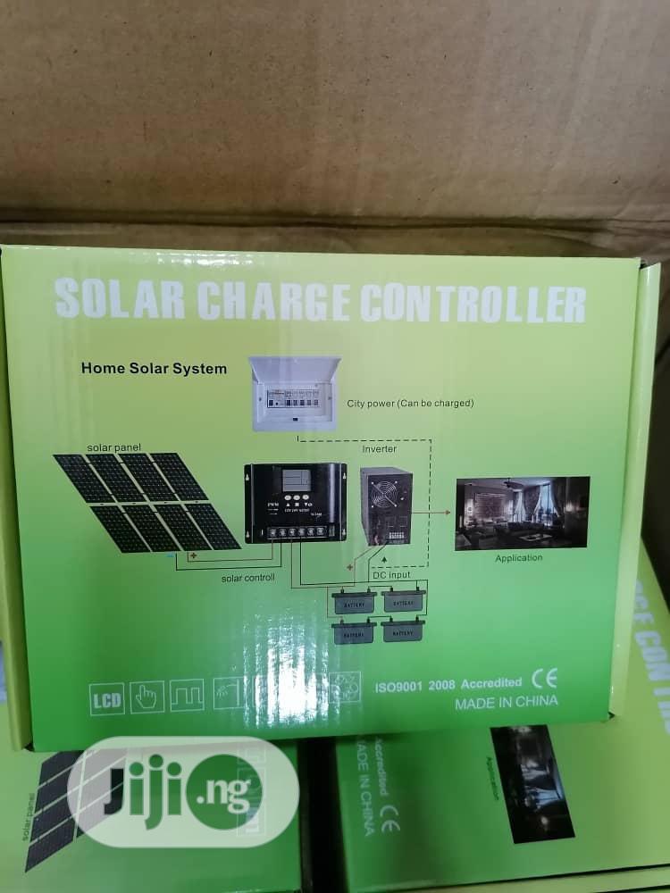 Original 60A 12v 24v 36v 48v AUTO Solar Charge Controller | Solar Energy for sale in Amuwo-Odofin, Lagos State, Nigeria