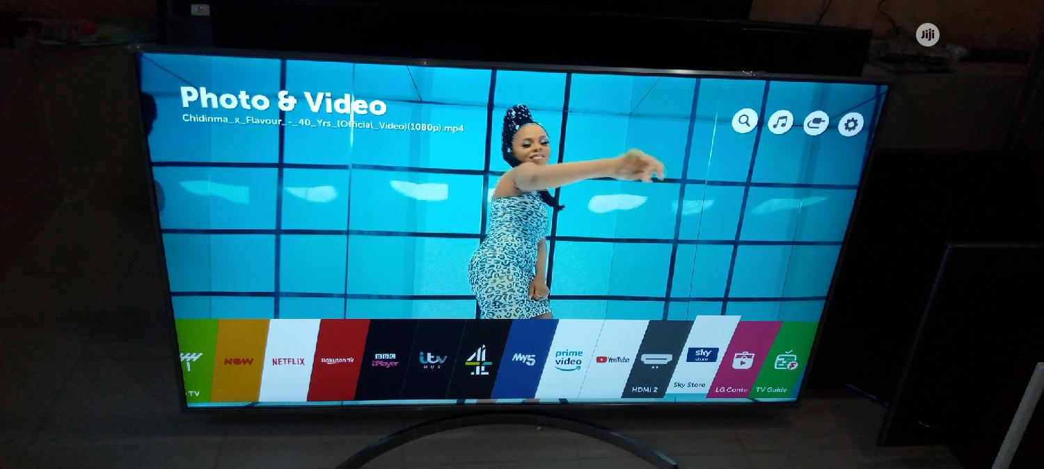 "Almost New 65"" LG Ultra High Definition 4k Webos Flat Tv 