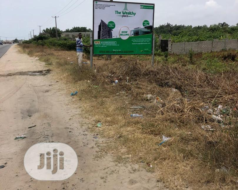 Archive: Cheap Land For Sale Facing LFTZ Express Road,Before Dangote Refinery,Ibejulekki