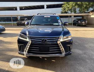 Lexus LX 2018 570 Three-Row Blue | Cars for sale in Lagos State, Surulere