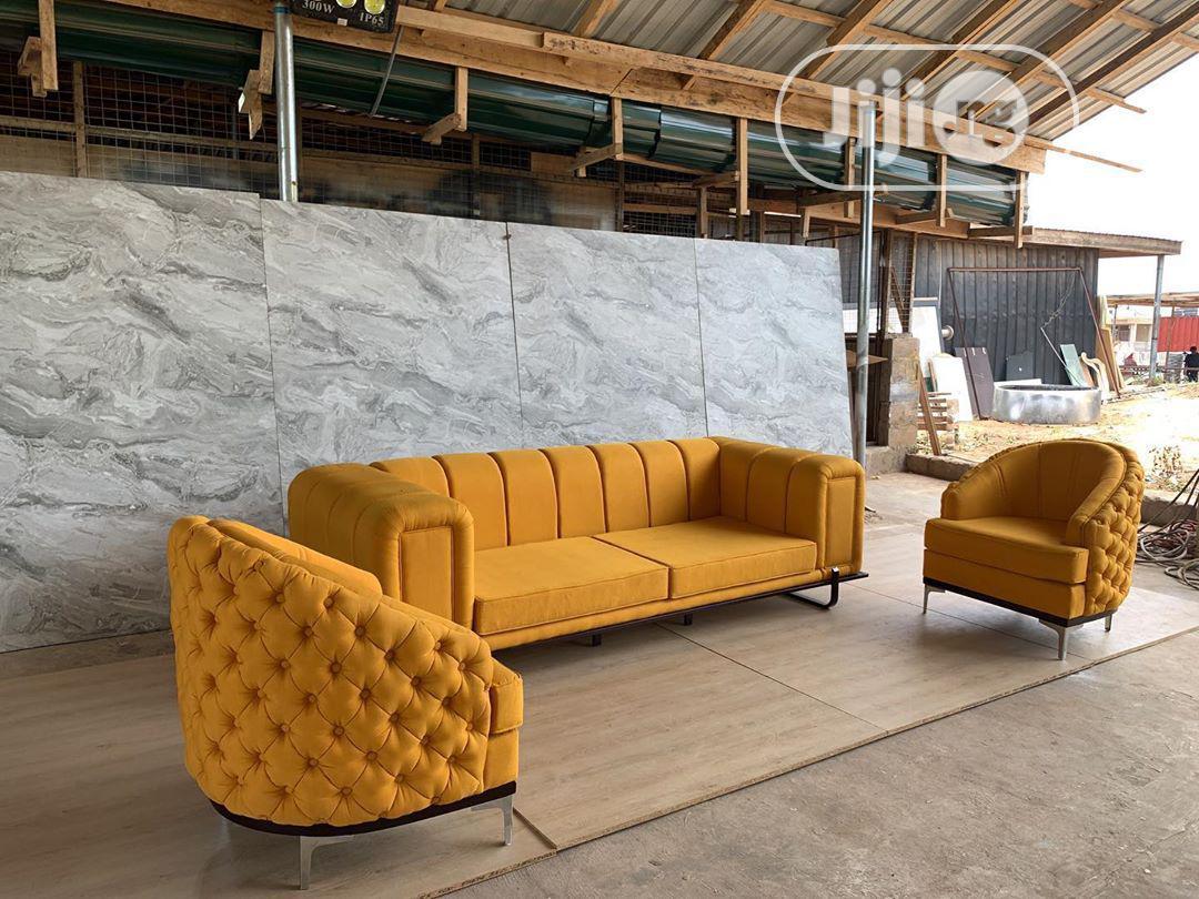 Finite Chesterfield Sofa