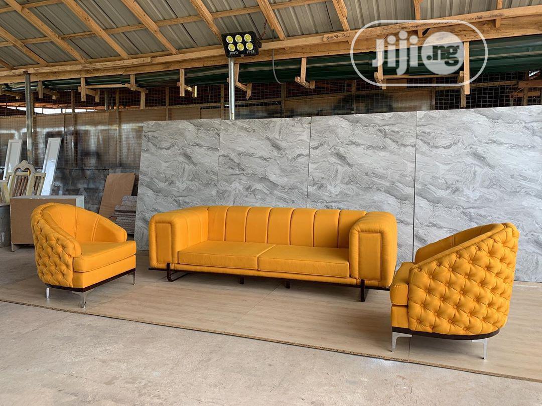 Finite Chesterfield Sofa | Furniture for sale in Yaba, Lagos State, Nigeria