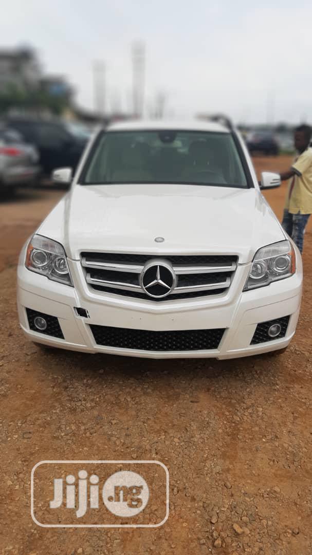 Mercedes-Benz GLK-Class 2012 350 4MATIC White