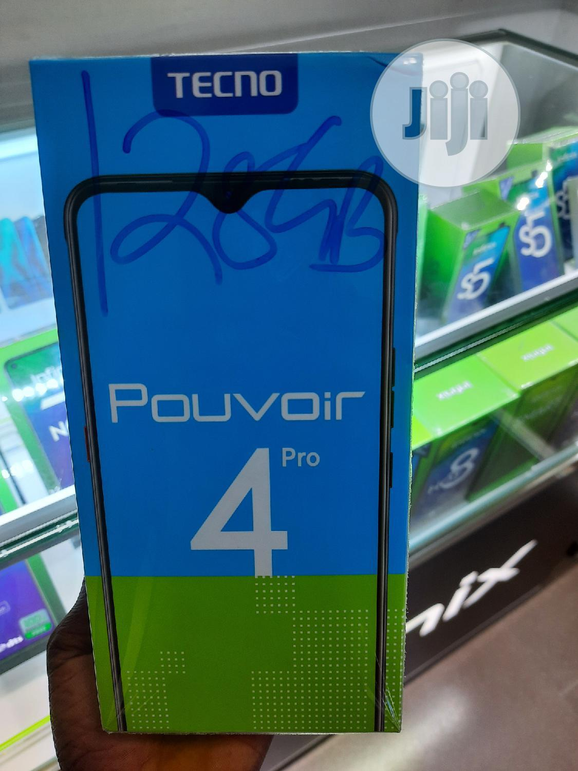 New Tecno Pouvoir 4 Pro 128 GB | Mobile Phones for sale in Port-Harcourt, Rivers State, Nigeria