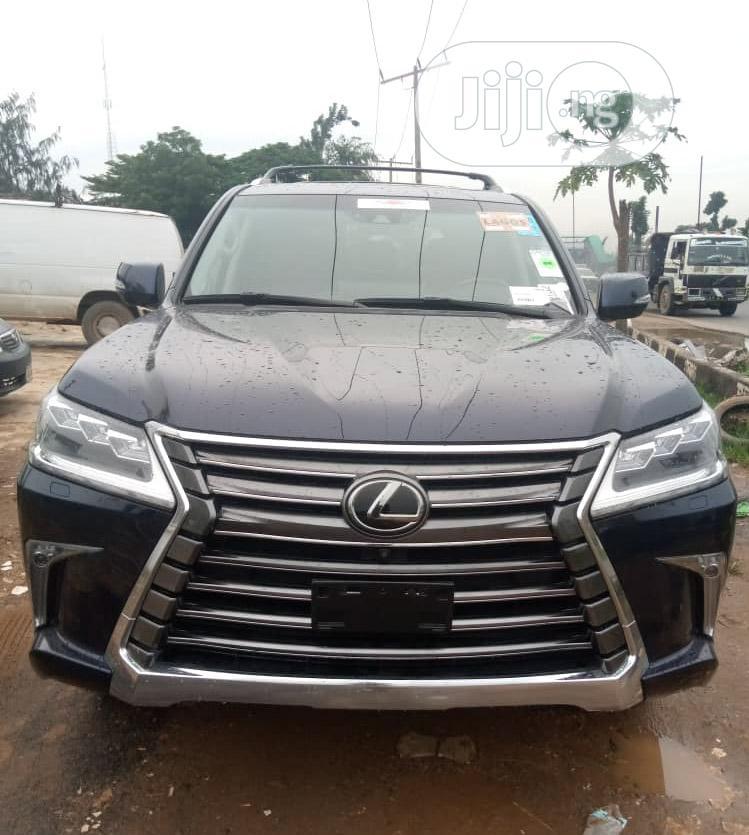 Lexus LX 570 2018 Blue | Cars for sale in Surulere, Lagos State, Nigeria