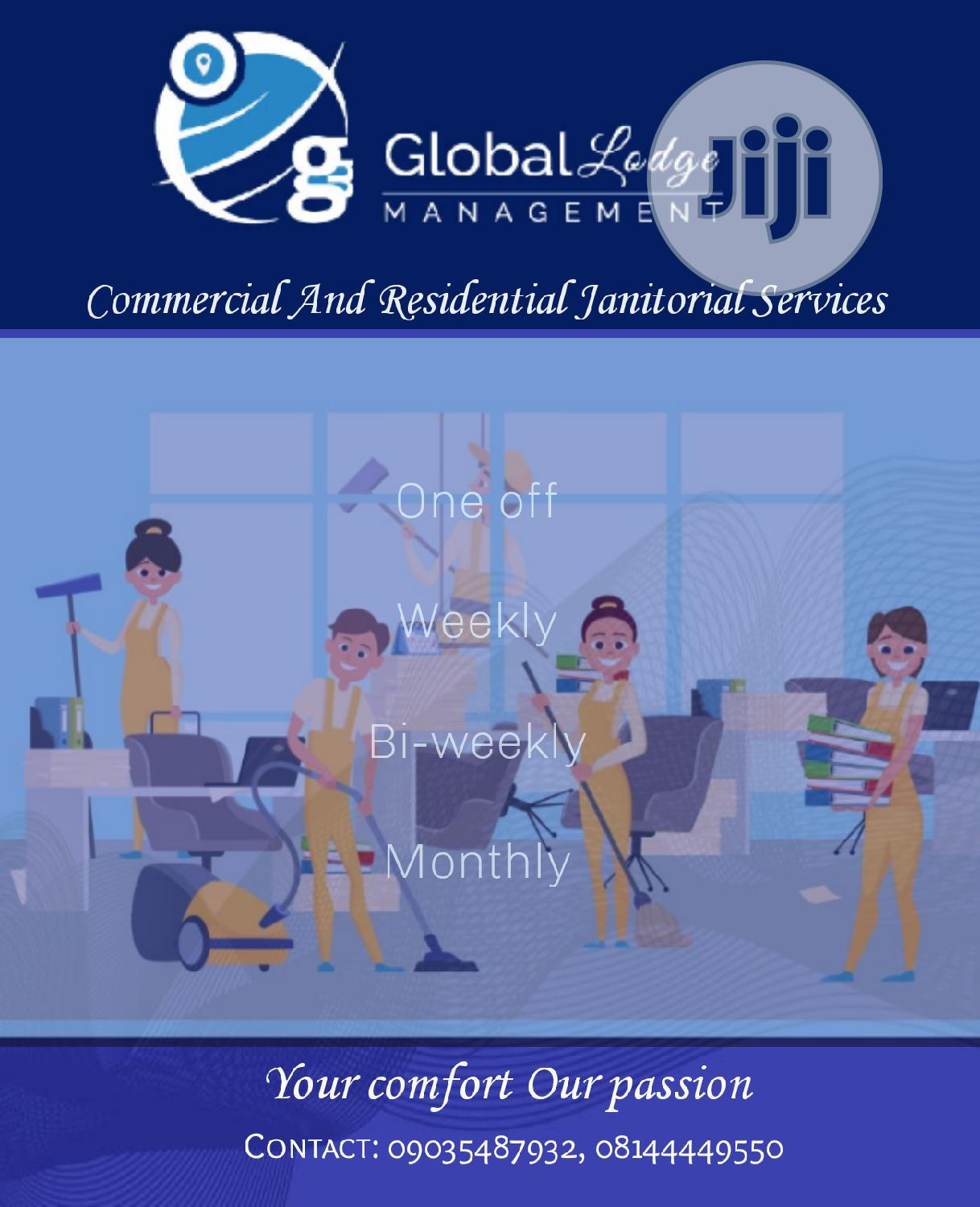 Globallodge Management Janitorial Services   Cleaning Services for sale in Lekki, Lagos State, Nigeria