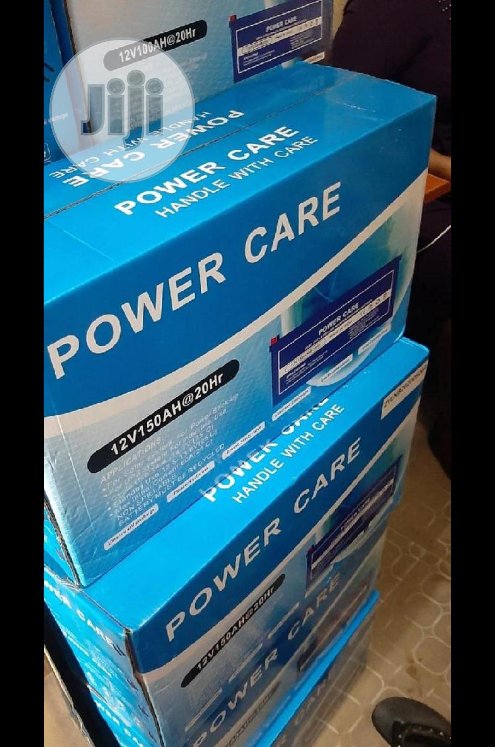 Powercare 150ah 12v Battery | Solar Energy for sale in Ojo, Lagos State, Nigeria