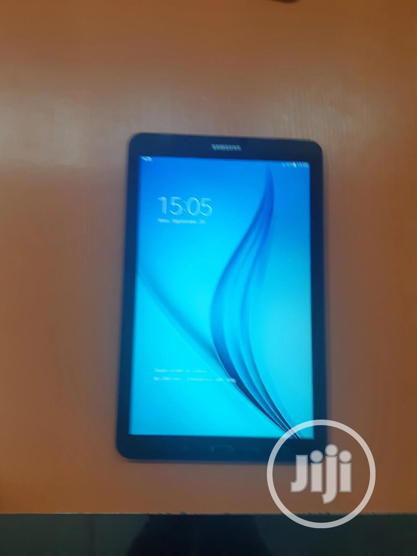 Samsung Galaxy Tab E 9.6 8 GB Black   Tablets for sale in Ikeja, Lagos State, Nigeria