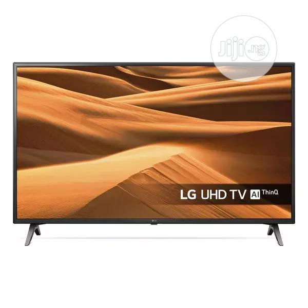 LG 55inches Smart Android Uhd TV 4K With Magic Remote | TV & DVD Equipment for sale in Ojo, Lagos State, Nigeria