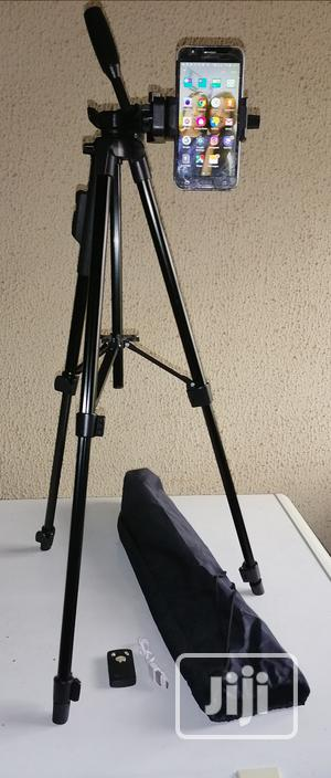 Selfie Tripod Stand With Remote Control | Accessories & Supplies for Electronics for sale in Lagos State, Ikeja
