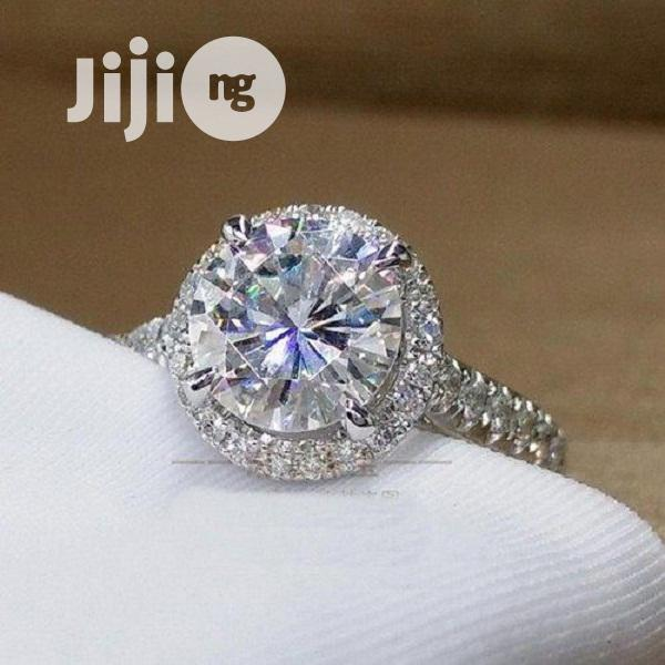 Archive: Engagement Ring - Classic Silver Proposal Wedding Band