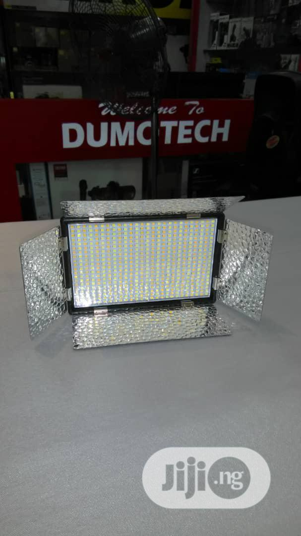 LED Video Light With Battery And Charger