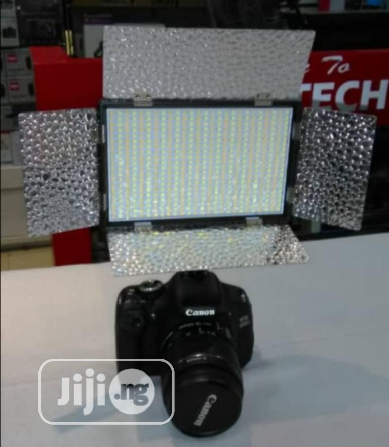LED Video Light With Battery And Charger | Accessories & Supplies for Electronics for sale in Ikeja, Lagos State, Nigeria