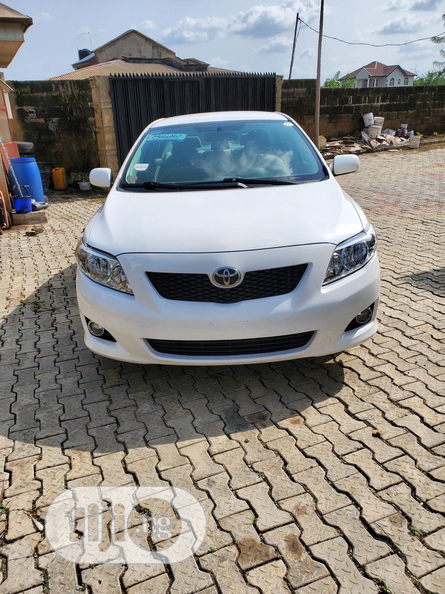 Toyota Corolla 2009 White In Oluyole Cars Adedayo Awoyemi Jiji Ng For Sale In Oluyole Buy Cars From Adedayo Awoyemi On Jiji Ng