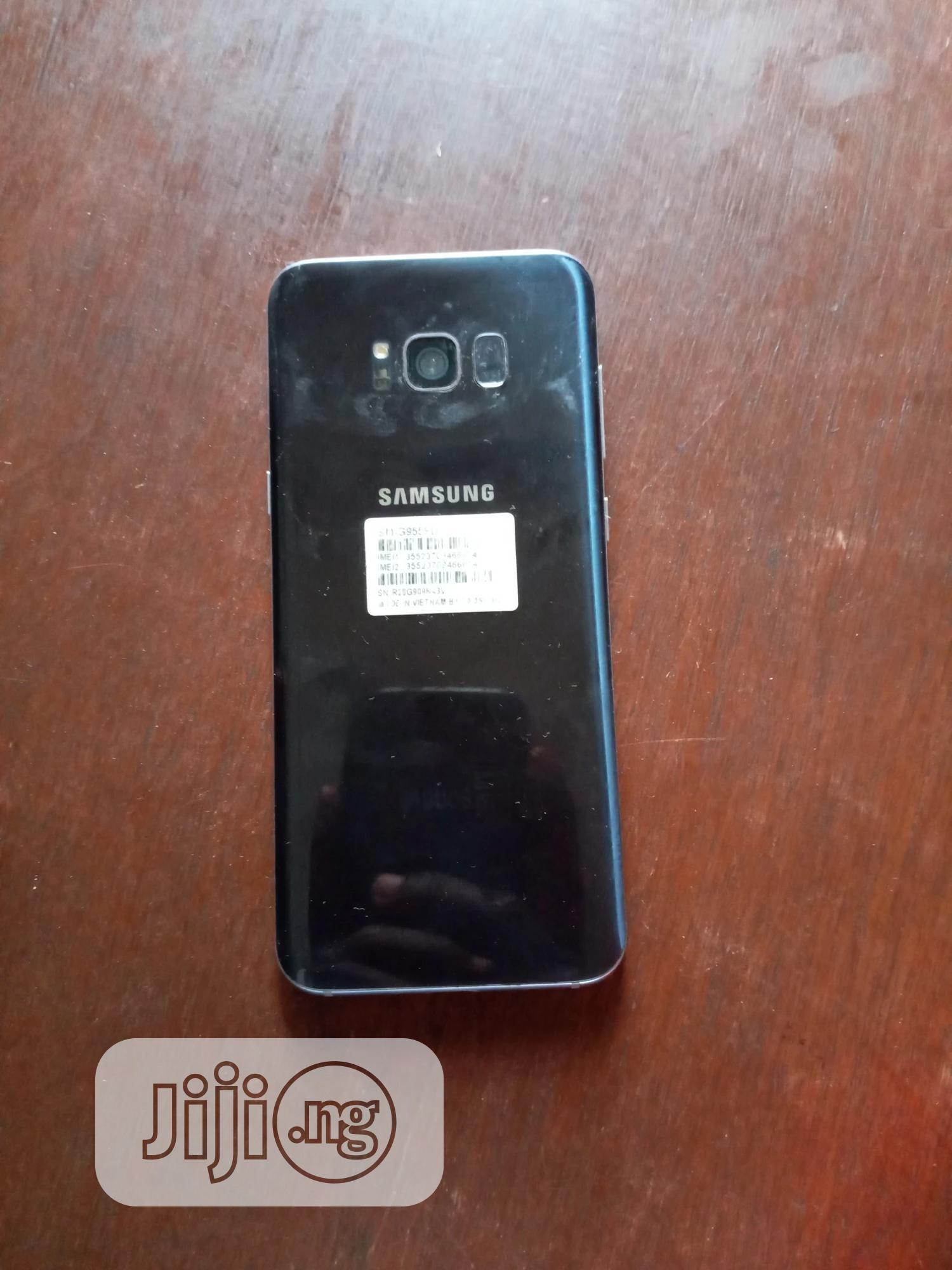 Samsung Galaxy S8 Plus 64 GB Black | Mobile Phones for sale in Ado-Odo/Ota, Ogun State, Nigeria