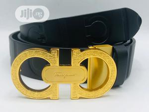 High Quality Salvatore Ferragamo Leather Belts for Men | Clothing Accessories for sale in Lagos State, Magodo