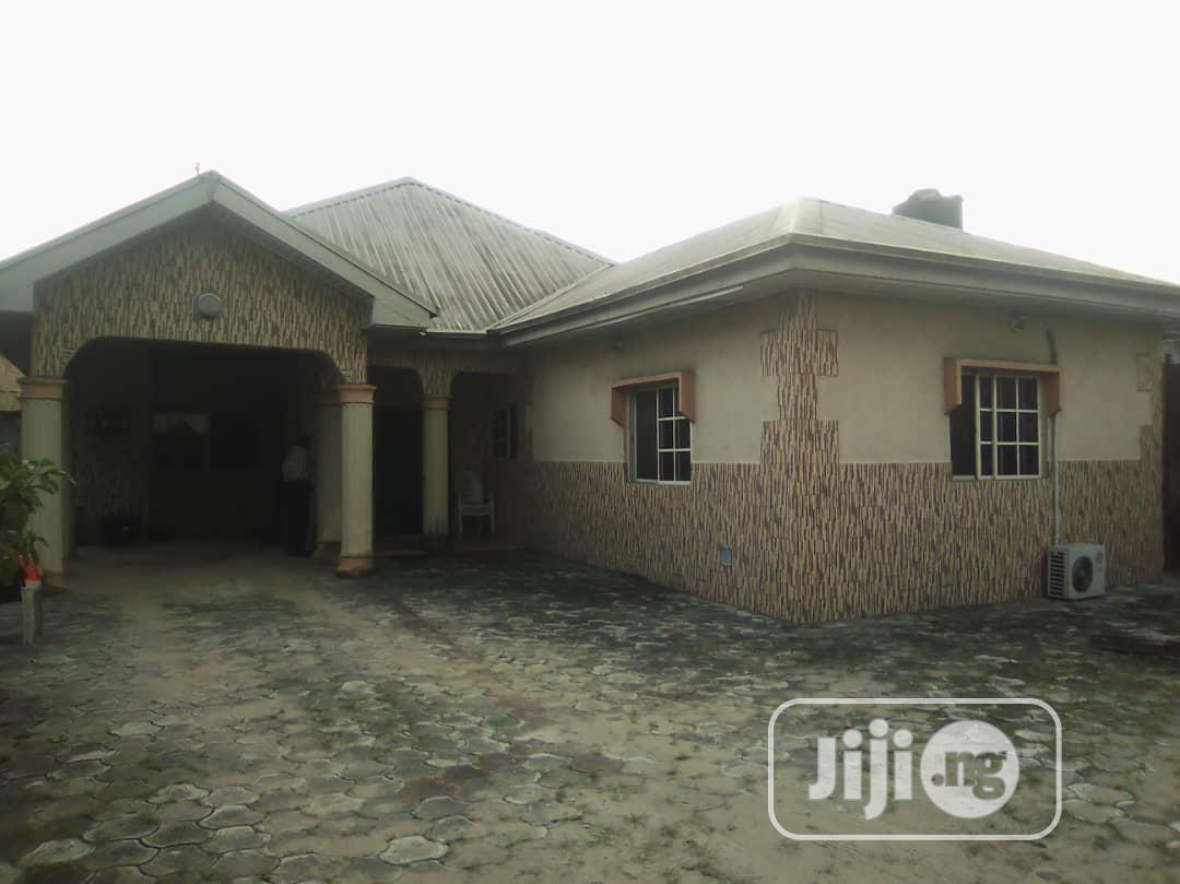 For Sale: A Standard 4 Bedroom Bungalow on 1 Plot Off Nta Rd