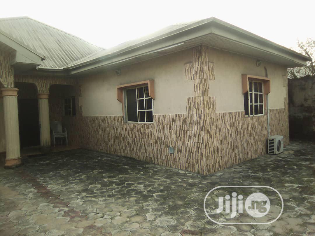 For Sale: A Standard 4 Bedroom Bungalow on 1 Plot Off Nta Rd | Houses & Apartments For Sale for sale in Port-Harcourt, Rivers State, Nigeria