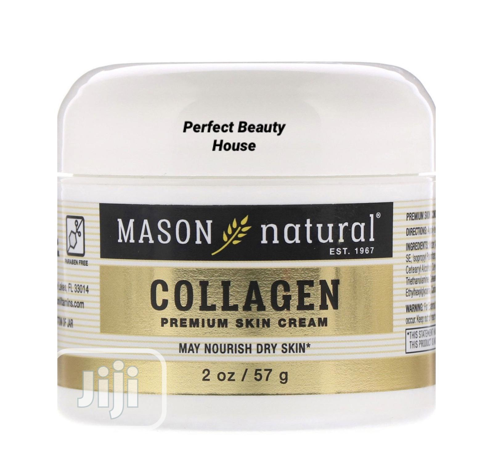 Mason Natural Collagen Premium Skin Cream 2 Oz 57g
