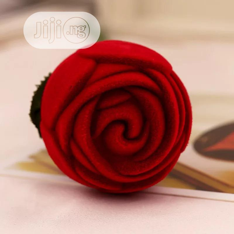 Red Rose Ring Case | Wedding Wear & Accessories for sale in Port-Harcourt, Rivers State, Nigeria