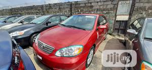 Toyota Corolla 2007 S Red   Cars for sale in Lagos State, Apapa