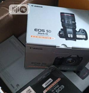 Canon EOS 5D Mark IV Full Frame With EF 24-105mm F/4l IS II | Photo & Video Cameras for sale in Lagos State, Ikeja