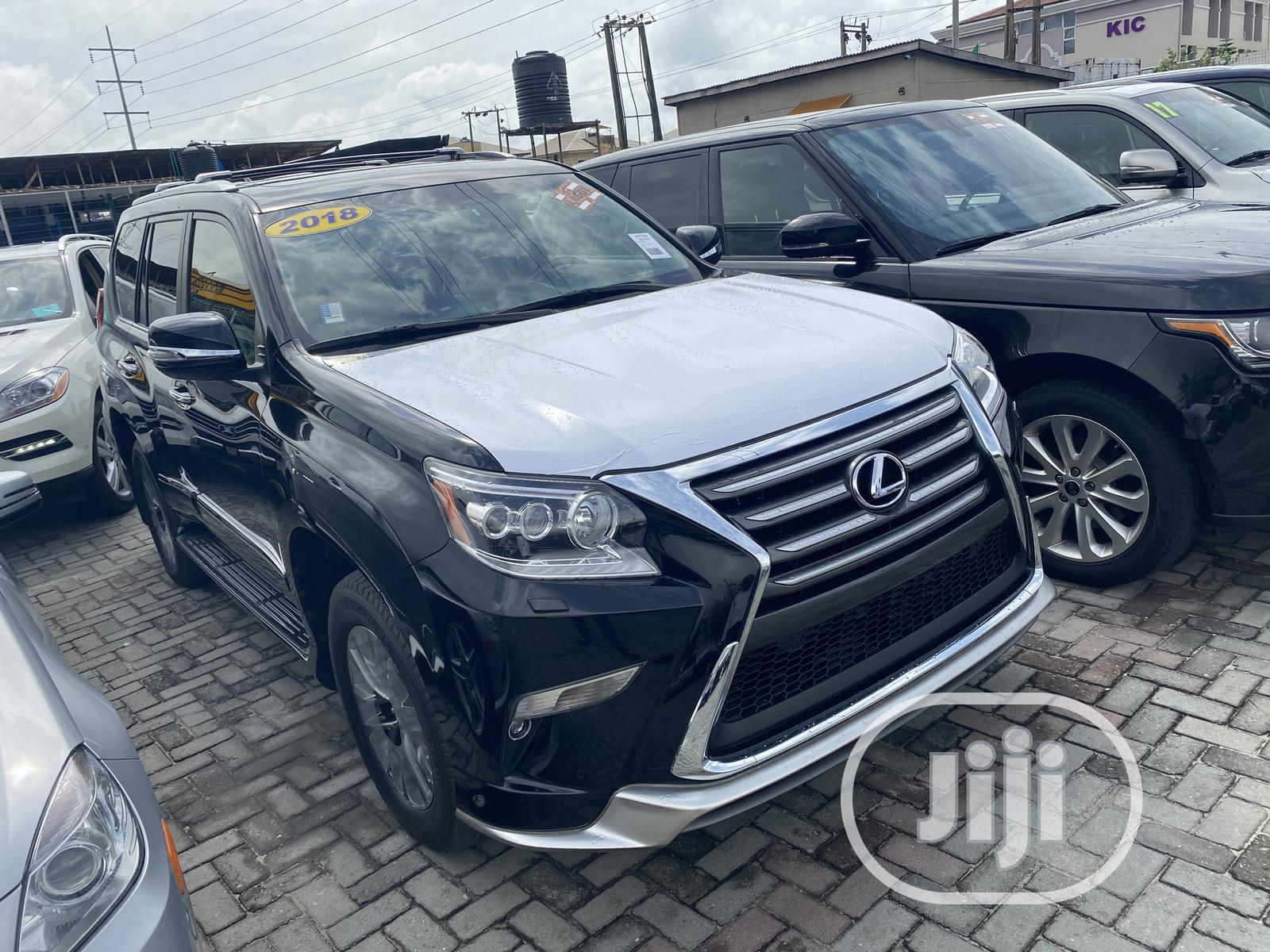 Lexus GX 2018 Black