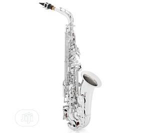 Yamaha Alto Professional Saxophone Silver | Musical Instruments & Gear for sale in Lagos State, Ikeja
