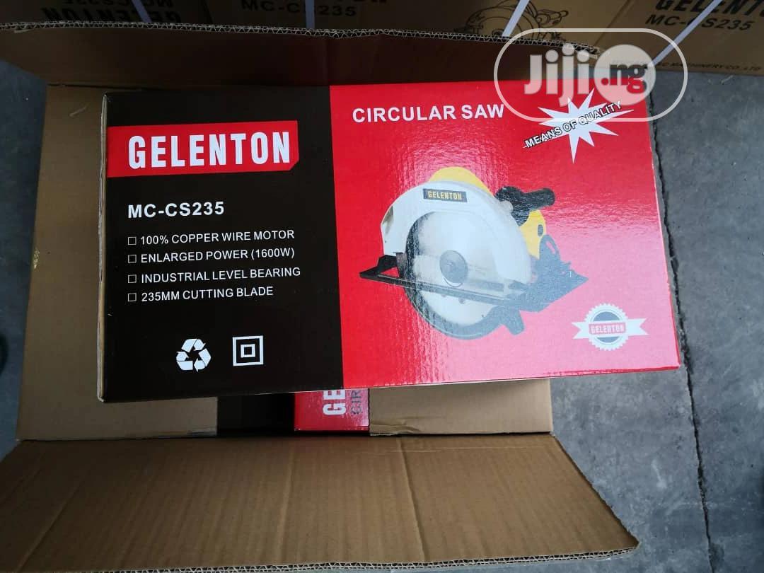 Circular Saw Machine (Gelenton) | Electrical Hand Tools for sale in Amuwo-Odofin, Lagos State, Nigeria