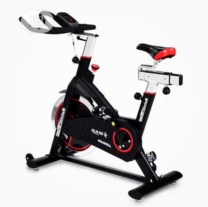 Spinning Bike With Meter Heavy Duty | Sports Equipment for sale in Lagos State, Surulere
