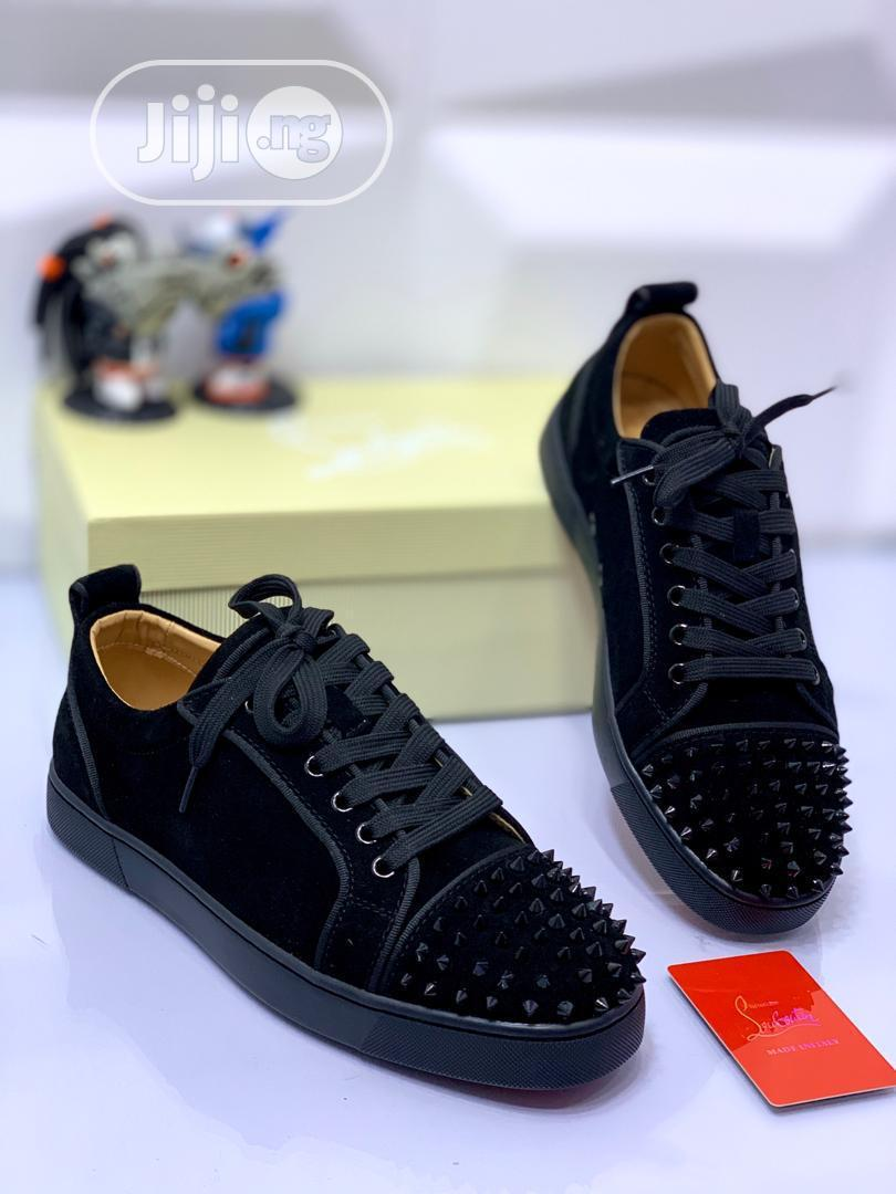 Classy Black Christian Louboutin Shoes for Men | Shoes for sale in Ikeja, Lagos State, Nigeria