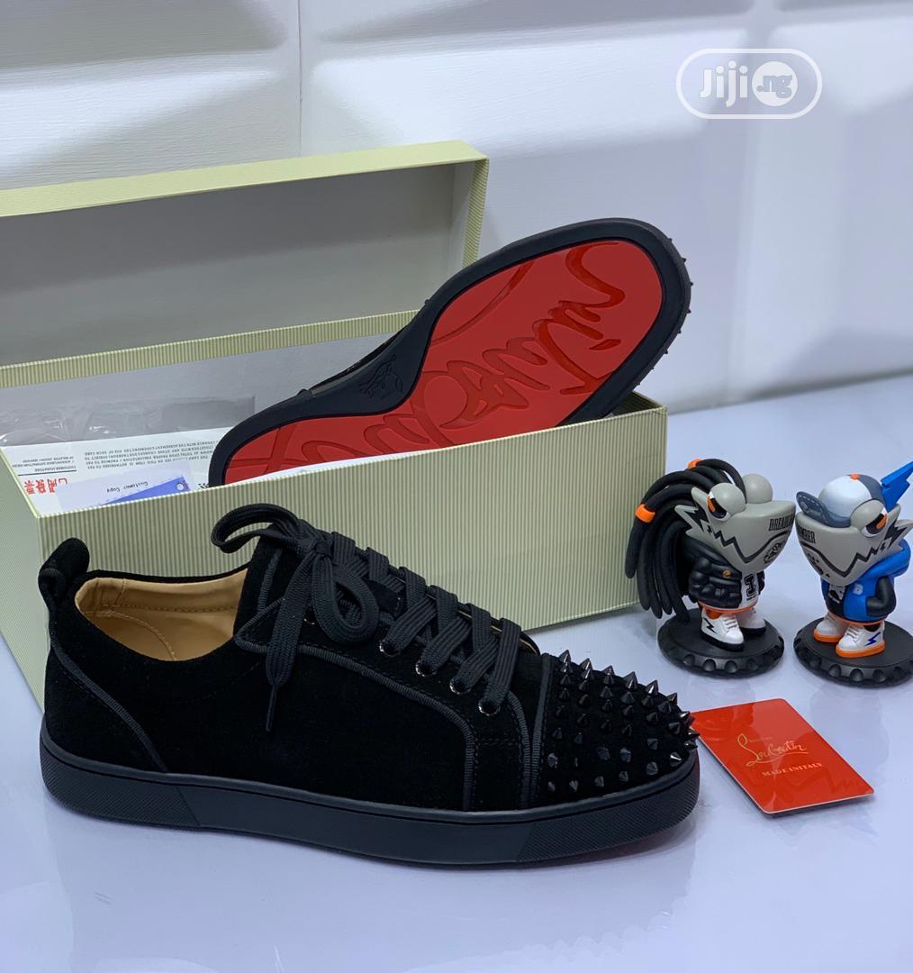 Classy Black Christian Louboutin Shoes for Men